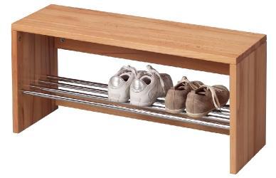 garderoben element kernbuche dekor garderobenpaneel kernbuche 509 im m bel onlineshop bv. Black Bedroom Furniture Sets. Home Design Ideas