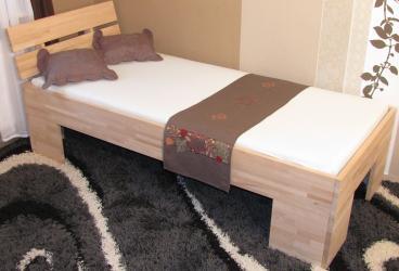 2386 günstiges Einzelbett Buche Tagesbett Buche Liegefläche 100x200cm
