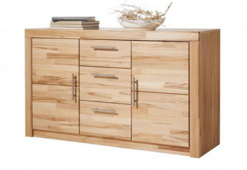 anrichte kommode sideboard kernbuche teilmassiv ge lt 1805 im m bel onlineshop bv gmbh. Black Bedroom Furniture Sets. Home Design Ideas