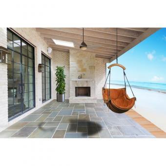 Hängesessel Hanging Chair Hamak Hängestuhl outdoor indoor Bezug terracotta - (3681)