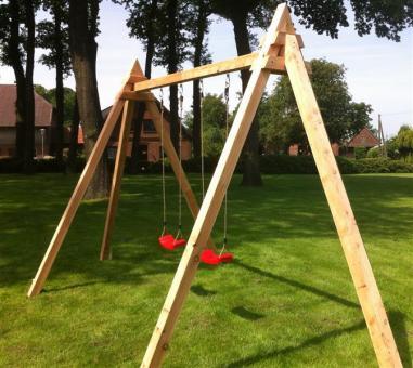 Holzschaukel Kinderschaukel Gartenschaukel - (3092)