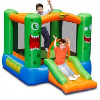 Kinder-Hüpfburg aufblasbar für 2 Kinder Kinder-Spielburg Hüpftrampolin - (3709)