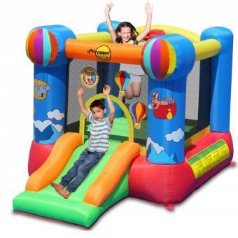 Kinder-Hüpfburg aufblasbar für 2 Kinder Kinder-Spielburg Hüpftrampolin - (3710)