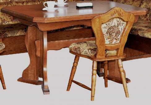 Küchentisch ausziehbarer Tisch Eßtisch Eiche rustikal P43 - 2187 | im Möbel  Onlineshop | bv GmbH