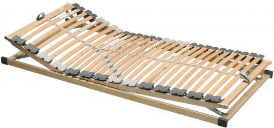 Lattenrost Kopf-und Fußteil verstellbar 100x200cm geeignet für Taschenfederkern-, Federkern - und Latexmatratzen - (3200)