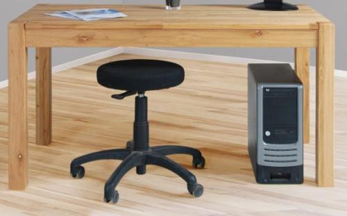 Schreibtisch Wildeiche Geolt Burotisch Pc Tisch Esstisch Wildeiche