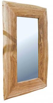 Spiegel 100x60 Wandspiegel Wildeiche Unikat-Spiegel Eiche - (3757)