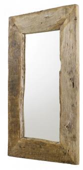 Spiegel aus Eiche Altholz Wandspiegel Wohnzimmerspiegel Eiche Altholz - (2573)