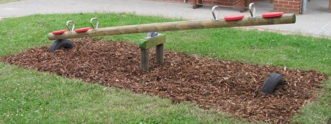 Kinder Holzwippe Für 4 Kinder Garten Holzwippe Kinder Wippe 3065