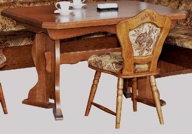 Kuchentisch Ausziehbarer Tisch Esstisch Eiche Rustikal P43 2187