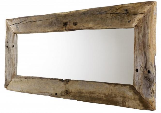 Spiegel aus eiche altholz cm breit wandspiegel