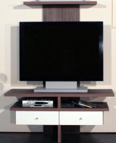 tv schrank tv rack hifi fernseh tv regal dunkel hochglanz. Black Bedroom Furniture Sets. Home Design Ideas