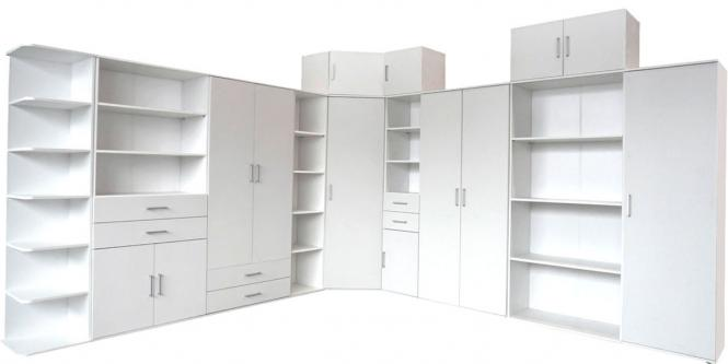 regalschrank weiss schrank weiss mehrzweckschrank weiss 1760 im m bel onlineshop bv gmbh. Black Bedroom Furniture Sets. Home Design Ideas